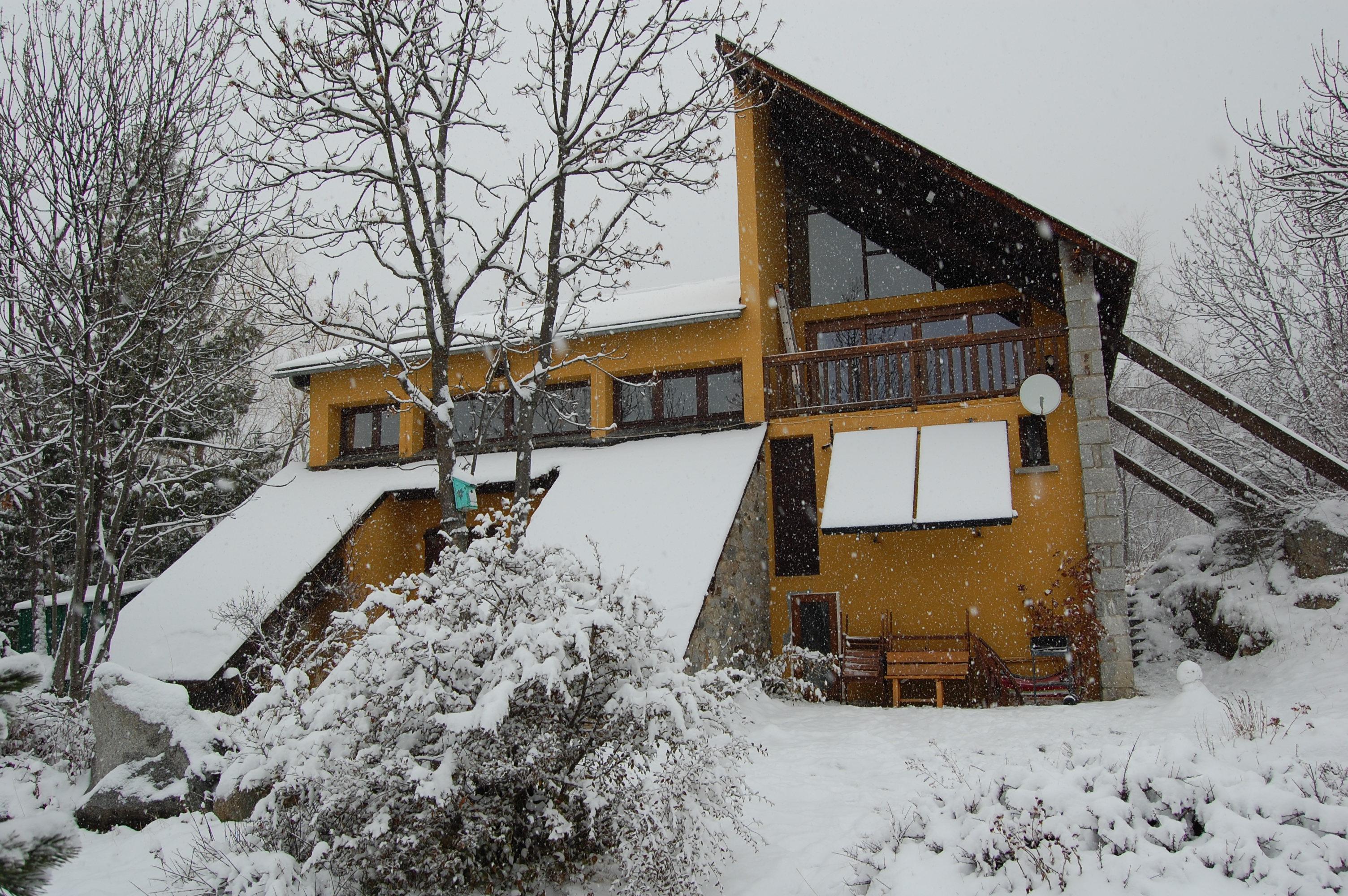 Balco de Dorres en invierno